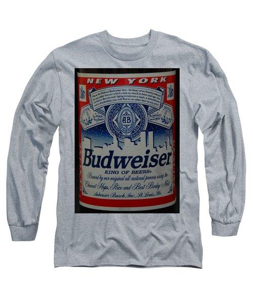 New York Bud Long Sleeve T-Shirt by Rob Hans