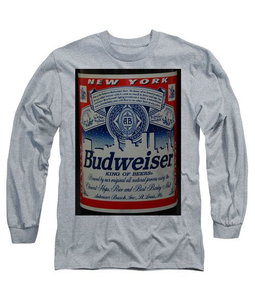 New York Bud Long Sleeve T-Shirt