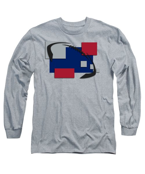 New York Giants Abstract Shirt Long Sleeve T-Shirt