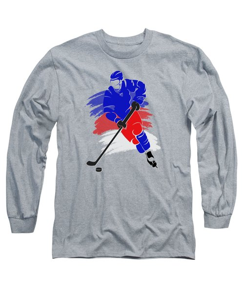 New York Rangers Player Shirt Long Sleeve T-Shirt