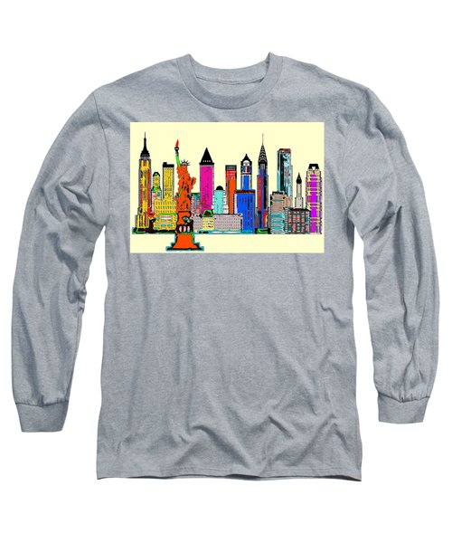New York - The Big City Long Sleeve T-Shirt