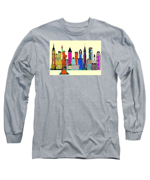New York - The Big City Long Sleeve T-Shirt