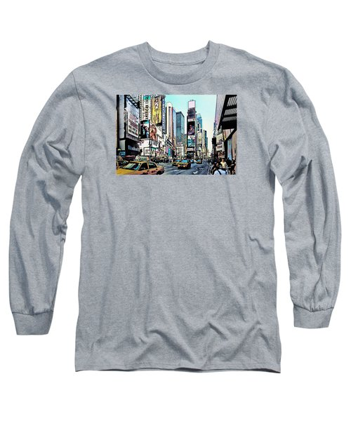 New York Times Square Long Sleeve T-Shirt