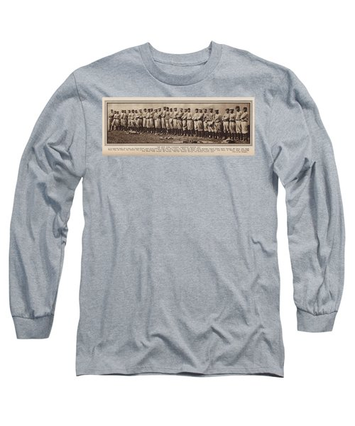 Long Sleeve T-Shirt featuring the photograph New York Yankees 1916 by Daniel Hagerman