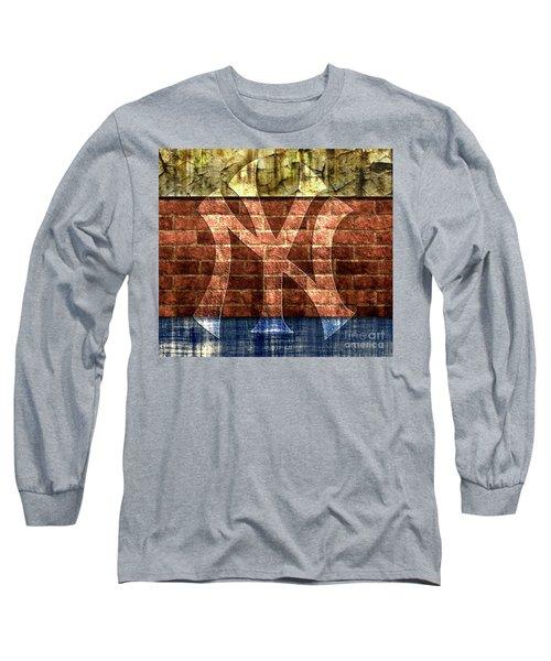 New York Yankees Brick 2 Long Sleeve T-Shirt