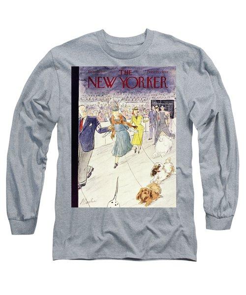 New Yorker February 12 1955 Long Sleeve T-Shirt