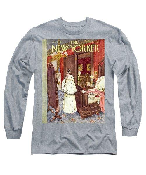 New Yorker January 10 1953 Long Sleeve T-Shirt