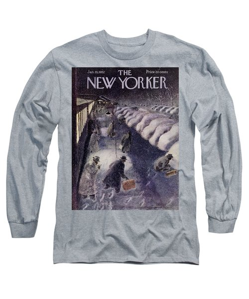 New Yorker January 19 1952 Long Sleeve T-Shirt