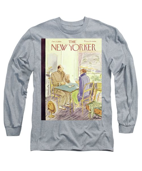 New Yorker January 23 1954 Long Sleeve T-Shirt