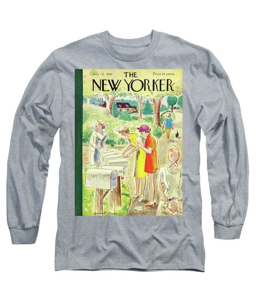 New Yorker July 12 1941 Long Sleeve T-Shirt