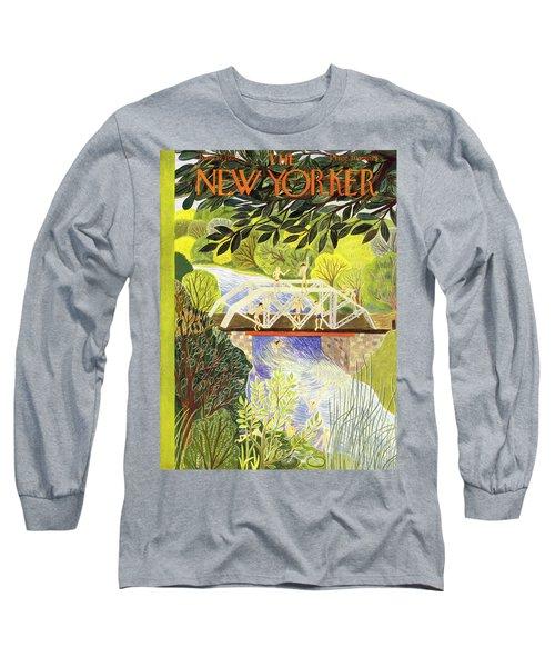 New Yorker June 17 1950 Long Sleeve T-Shirt
