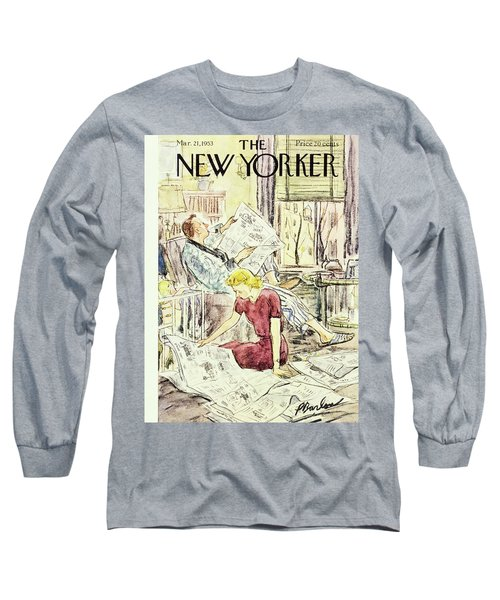 New Yorker March 21 1953 Long Sleeve T-Shirt