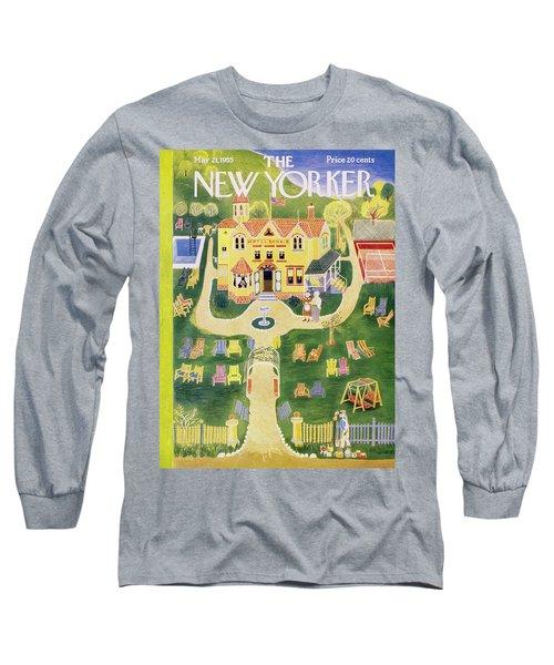 New Yorker May 21 1955 Long Sleeve T-Shirt