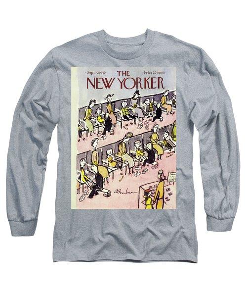 New Yorker September 10 1949 Long Sleeve T-Shirt