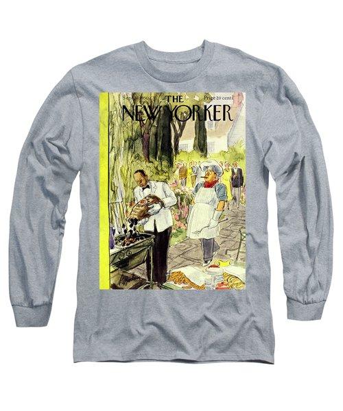 New Yorker September 16 1950 Long Sleeve T-Shirt