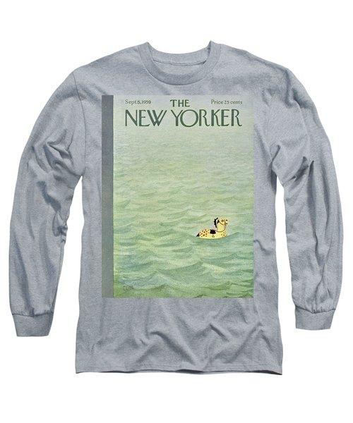New Yorker September 5 1959 Long Sleeve T-Shirt