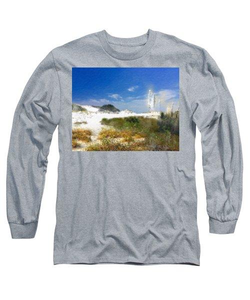 New Zealand Toi Toi Coastal Grasses Long Sleeve T-Shirt