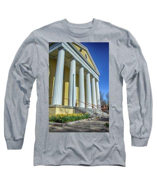Newburgh Courthouse On Grand Street 2 Long Sleeve T-Shirt