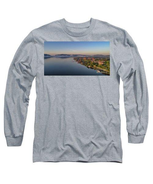 Newburgh Waterfront At Sunrise Long Sleeve T-Shirt