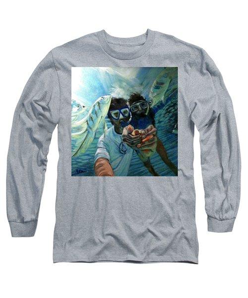 Honeymoon Selfie Long Sleeve T-Shirt