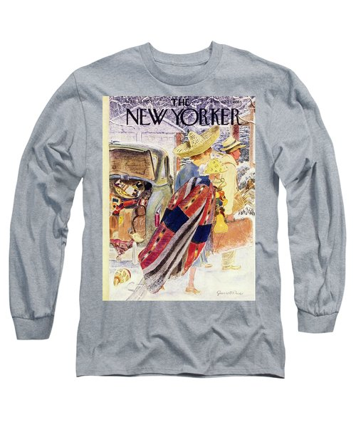 Newyorker January 31 1953 Long Sleeve T-Shirt