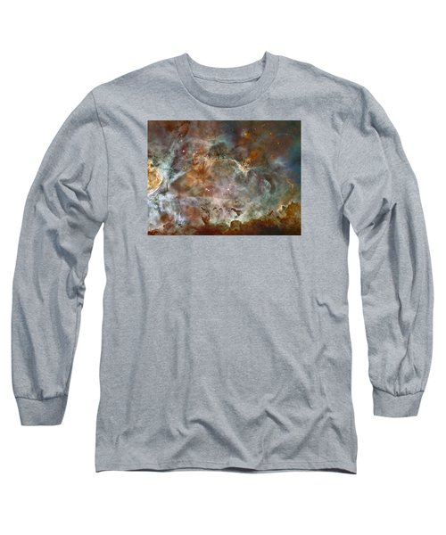 Ngc 3372 Taken By Hubble Space Telescope Long Sleeve T-Shirt
