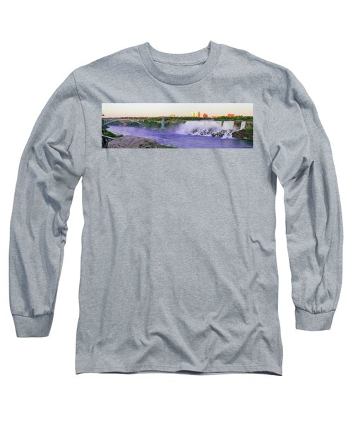 Niagara Falls At Dusk Long Sleeve T-Shirt