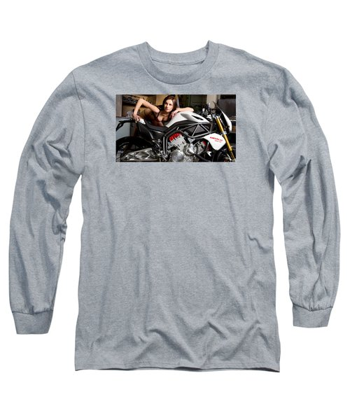 Nice View Long Sleeve T-Shirt by Lawrence Christopher