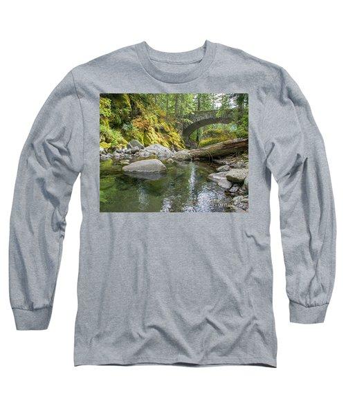 Nickel Creek 1024 Long Sleeve T-Shirt by Chuck Flewelling