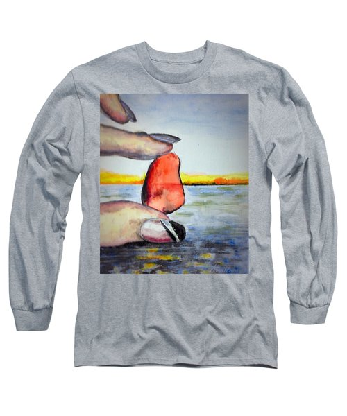 Nickie's Red Long Sleeve T-Shirt by Stan Tenney