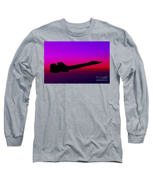 Long Sleeve T-Shirt featuring the photograph Night Eyes by Greg Moores