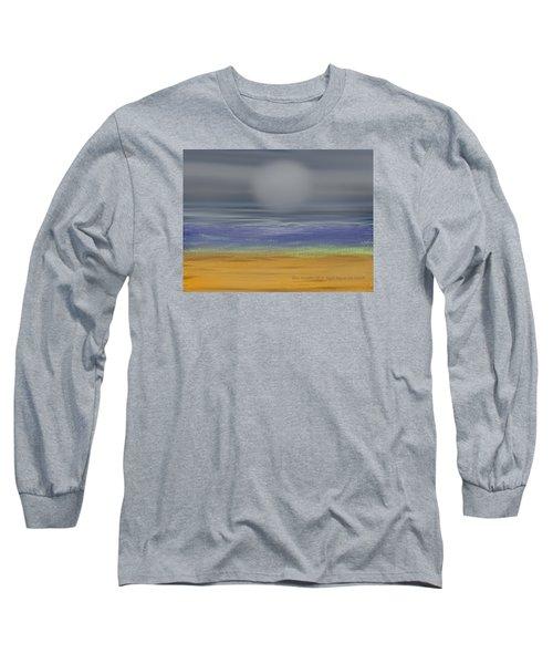 Night Fog On The Beach Long Sleeve T-Shirt by Dr Loifer Vladimir