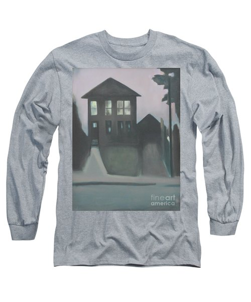 Night Glow Long Sleeve T-Shirt by Ron Erickson