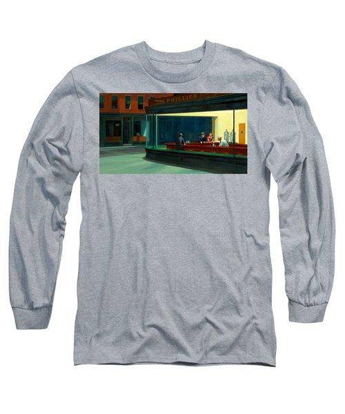Night Hawks Long Sleeve T-Shirt