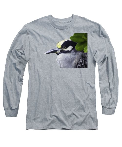 Night Heron Transparency Long Sleeve T-Shirt