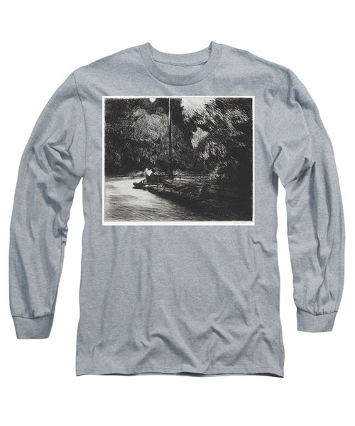 Night In The Park Long Sleeve T-Shirt