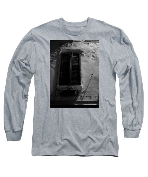 Night Shadows Long Sleeve T-Shirt by Cesare Bargiggia