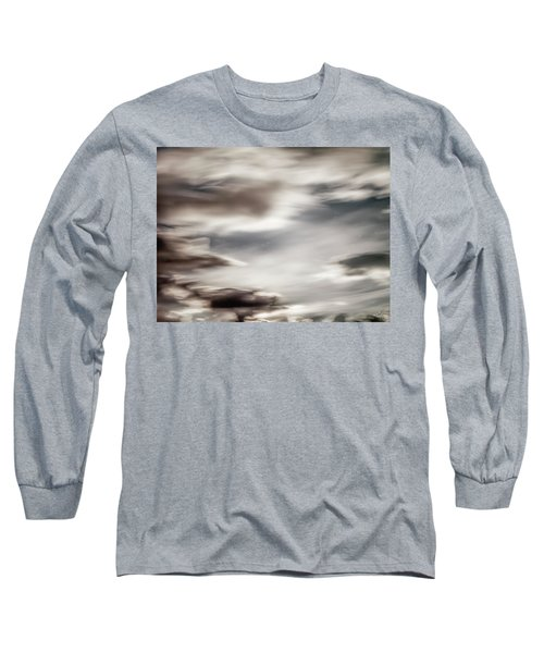 Night Sky 3 Long Sleeve T-Shirt by Leland D Howard