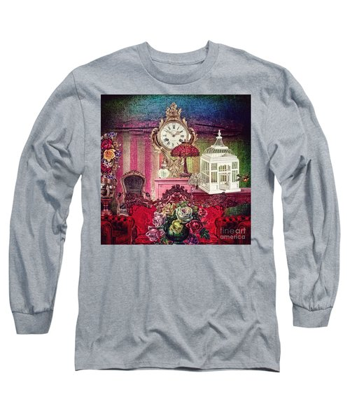Long Sleeve T-Shirt featuring the photograph Nightingale by Mo T