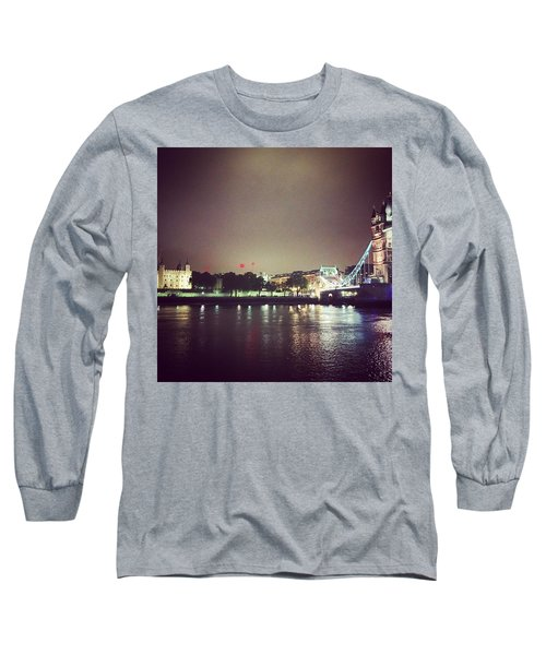 Nighttime In London Long Sleeve T-Shirt