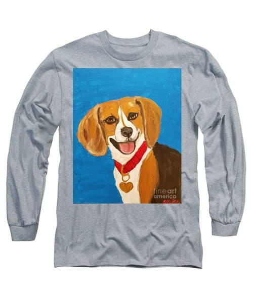 Niki Date With Paint Nov 20th Long Sleeve T-Shirt