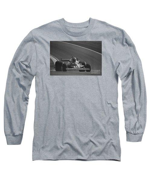 Niki Lauda. 1977 French Grand Prix Long Sleeve T-Shirt