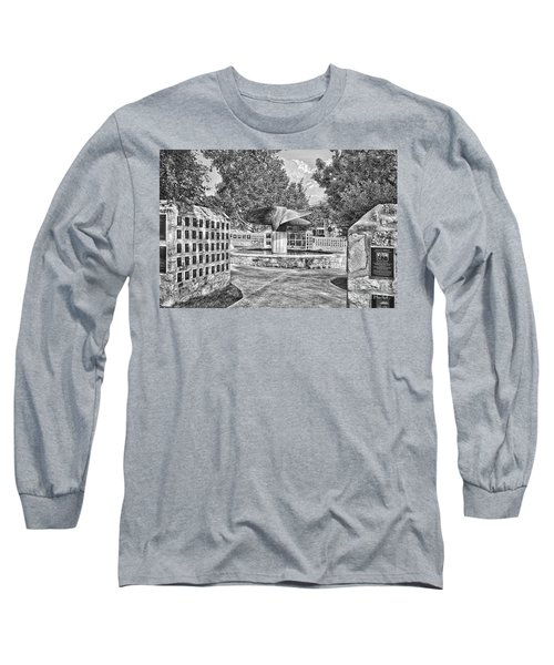 Nimitz Prop Fountain Long Sleeve T-Shirt