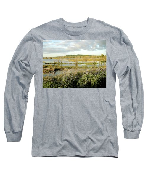 Nisqually Tide Coming In Long Sleeve T-Shirt