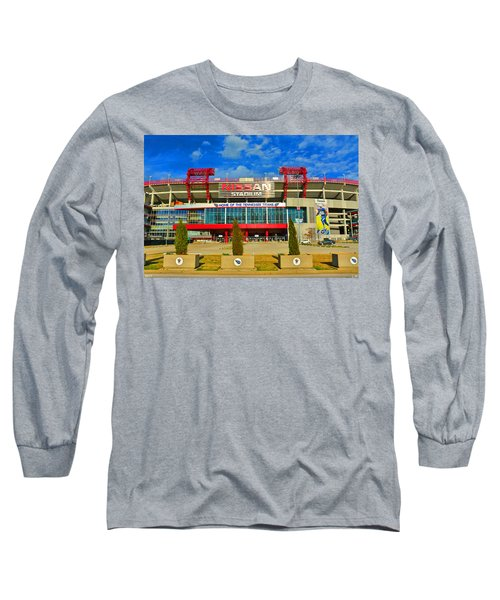 Nissan Stadium Home Of The Tennessee Titans Long Sleeve T-Shirt