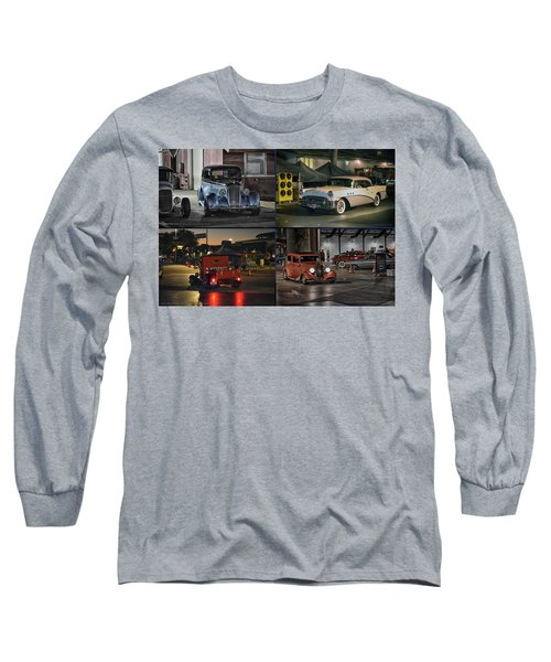 Nite Shots At Cure Long Sleeve T-Shirt by Bill Dutting