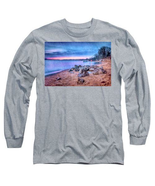 Long Sleeve T-Shirt featuring the photograph No Escape by Edward Kreis