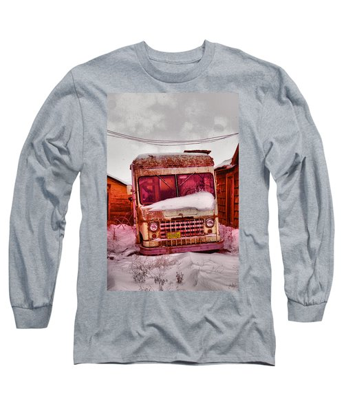 Long Sleeve T-Shirt featuring the photograph No More Deliveries by Jeff Swan