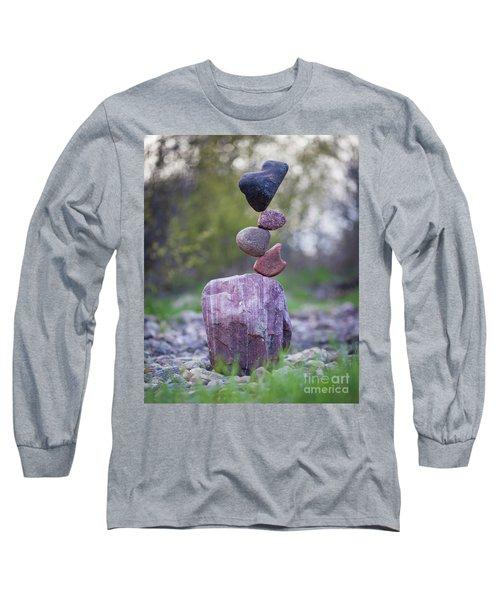 Zen Stack #4 Long Sleeve T-Shirt