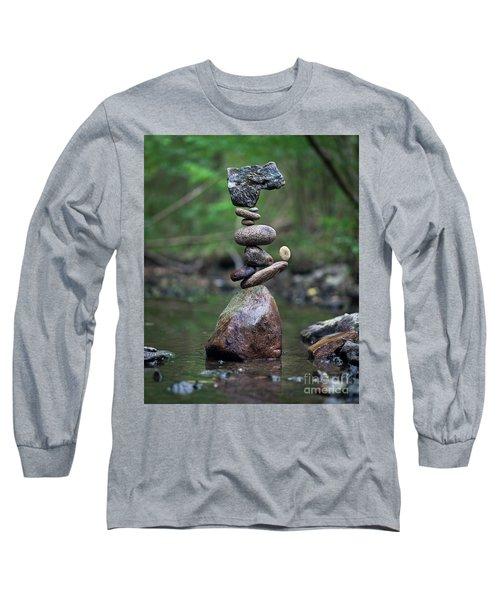 Zen Stack #8 Long Sleeve T-Shirt